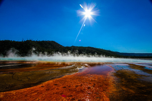 Red Trail to a Geyser | by Digital_hh