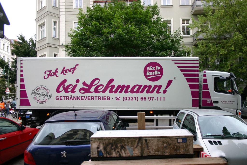 Ick koof bei Lehmann! | Horst Lehmann Getränke GmbH was foun… | Flickr
