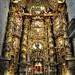 Le maître-autel, église de l'ancien monastère San Salvador, Celanova, comarque de Tierra de Celanova, province d'Ourense, Galice, Espagne.