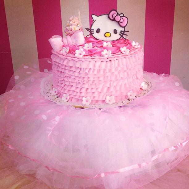 Sweet Cake, Torta de Hello Kitty para celebrar el cumpleañ ...
