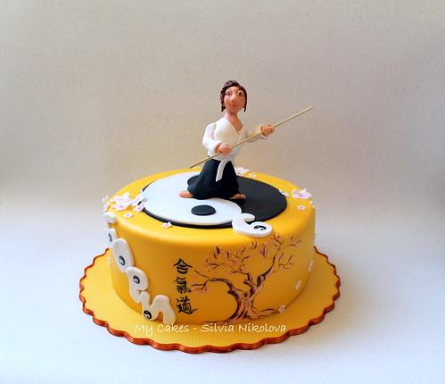 Images Of 1st Anniversary Cake : Aikido Cake silva4ka (marulka_s) Flickr