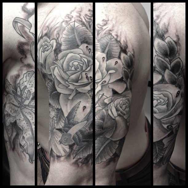 First Half Sleeve Completed Today Thanks Dan Was Fun Flickr