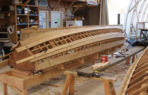 Oak Island Ships Plank