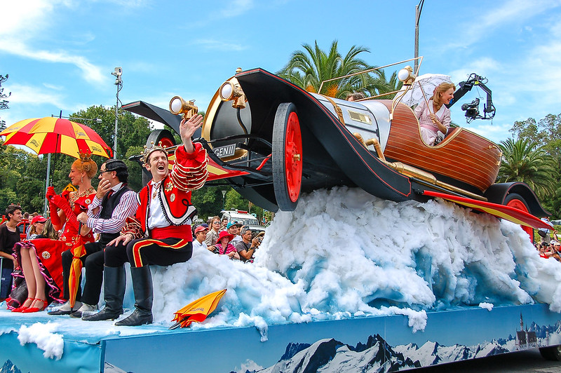 Moomba Parade 2013 - Chitty Chitty Bang Bang