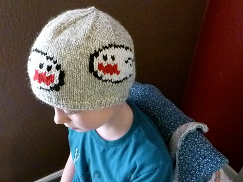 Luigi's Mansion Hat for Nels | by kellyhogaboom