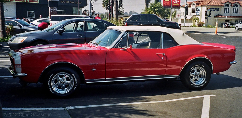 1967 Chevrolet Camero 350 Ss Convertible Pentax Iqzoom 1