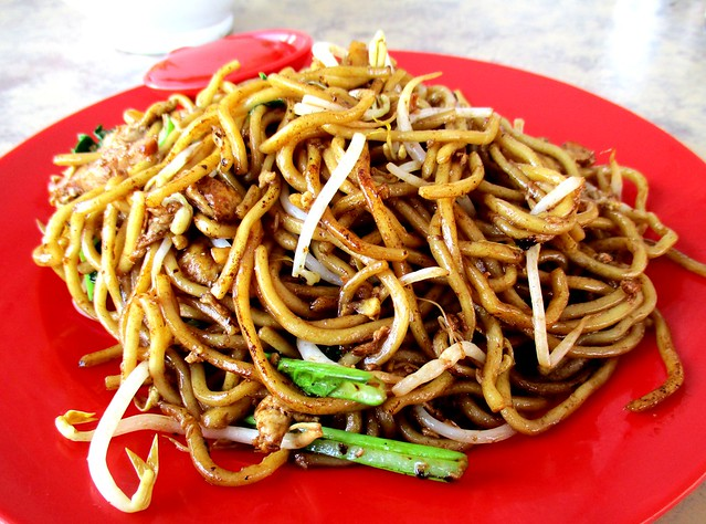 Ban Chow Fook Coffee Restaurant fried noodles, dry