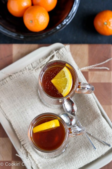 Hot Rum & Ginger Tea Toddy Recipe by Cookin' Canuck #cocktail #tea # ...