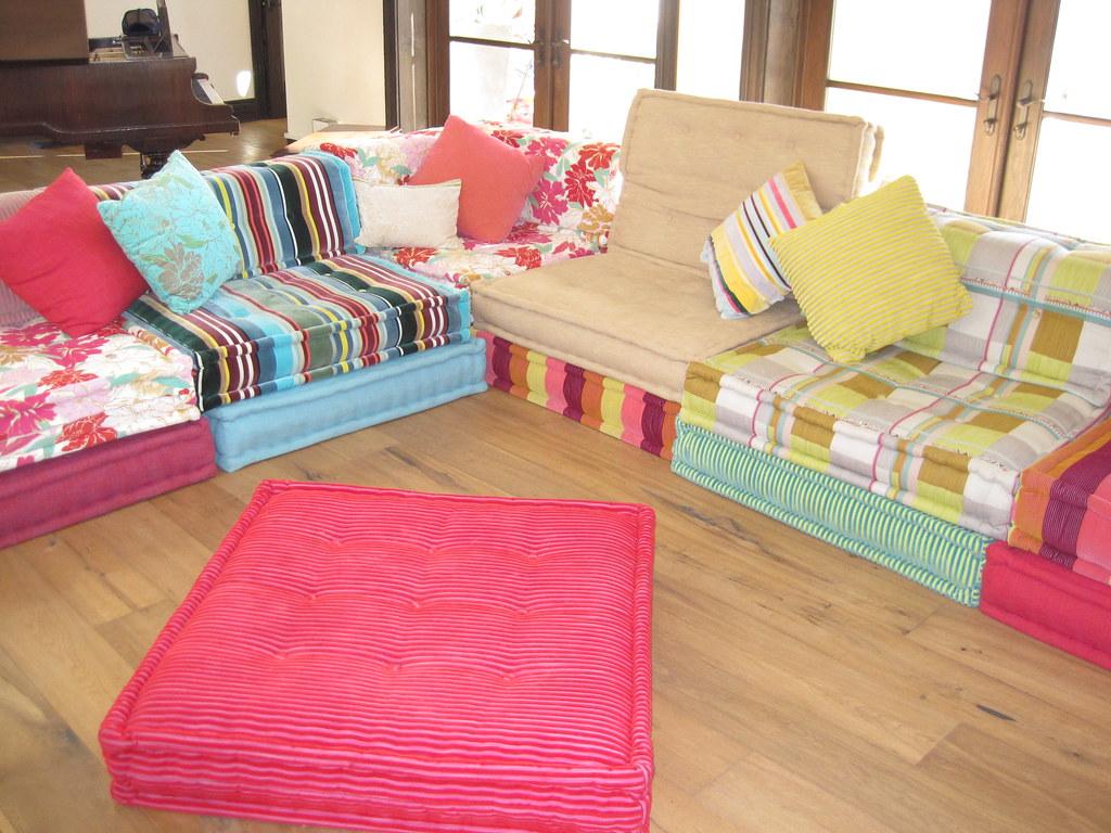 2 roche bobois mahjong couch laurie dugan flickr - Prix mahjong roche bobois ...