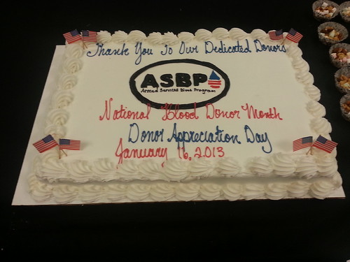 The National Blood Donor Month celebration cake | The cake ...