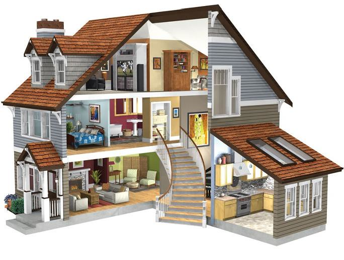3d doll house this is the 3d rendering of my original 3d home architect