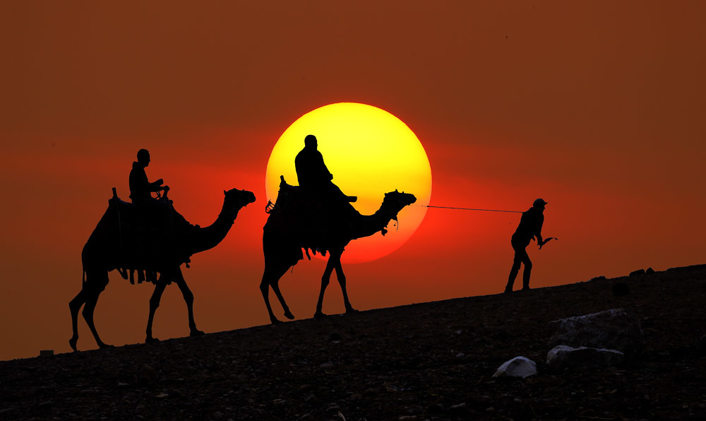 Desert Camel Ride @ Sunset | Desert Camel Ride, Egypt | Flickr