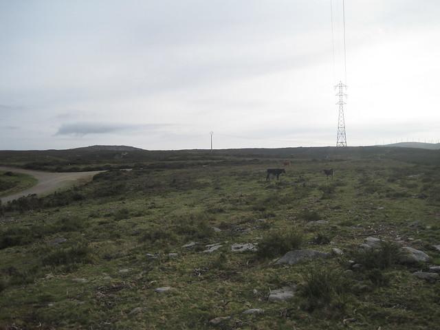 Desvío en la Ruta Megalítica por la Sierra del Barbanza