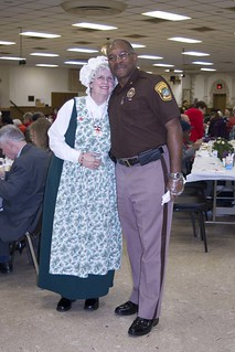 Mrs. Claus and Sheriff Morgan | by Sheriff Gabe Morgan