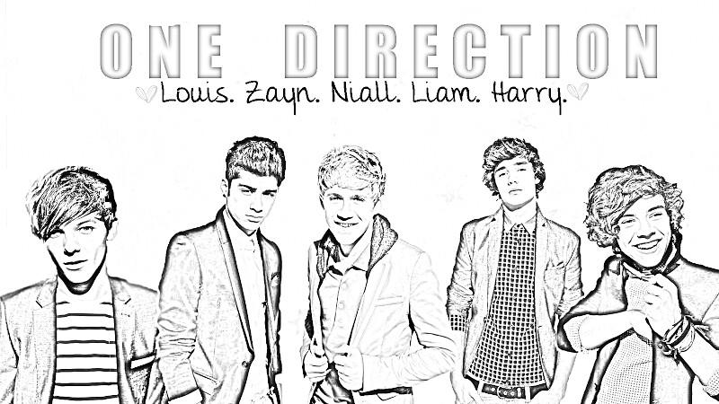 Kleurplaten One Direction Printen.One Direction Kleurplaten Printen One Direction Kleurplaten