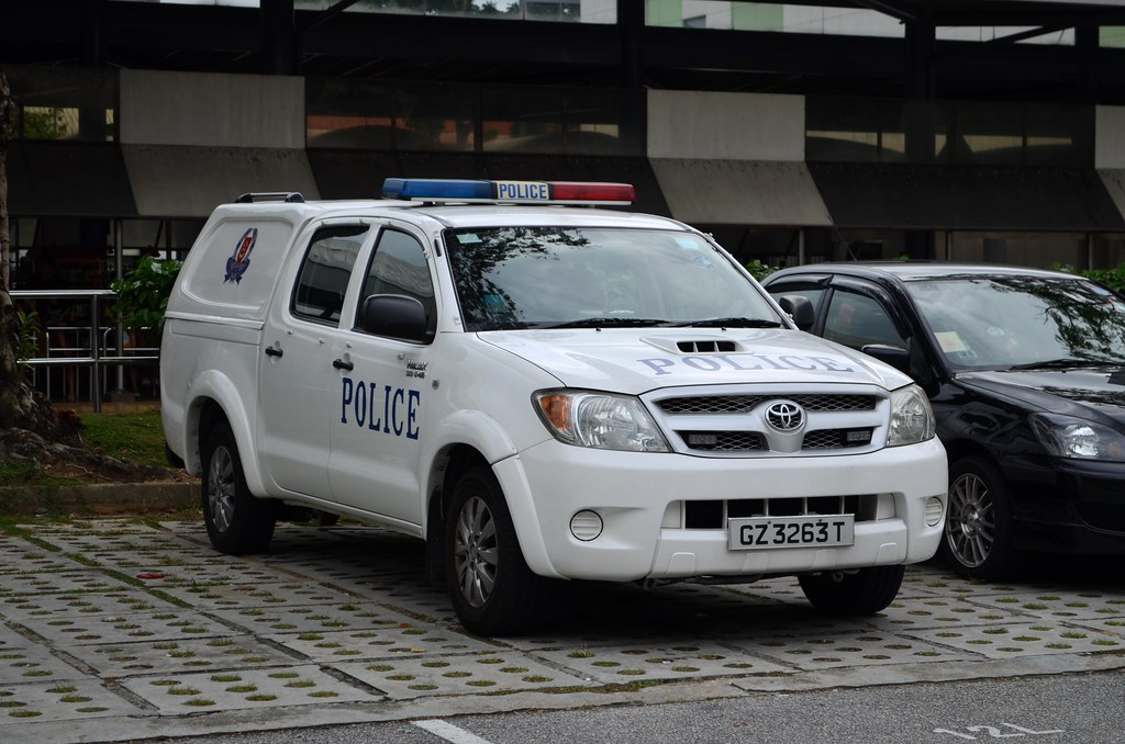 Singapore Police Force Toyota Hilux Fast Response Vehicle Flickr