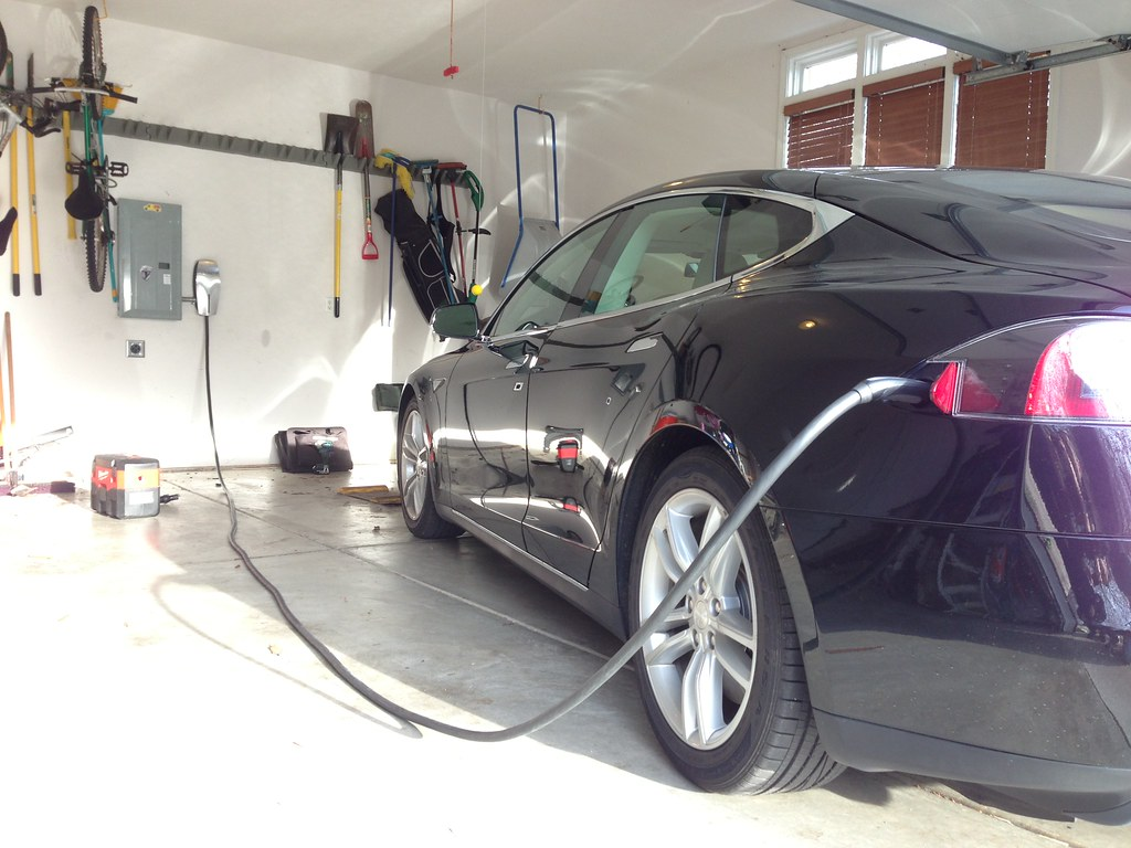 Tesla High Power Wall Charger Installation Evan Fusco