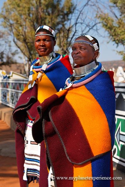 Ndebele Women South Africa Ndebele Women Traditionally
