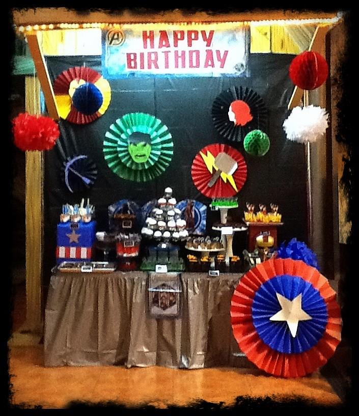 Birthday Cake Table Ideas Pinterest