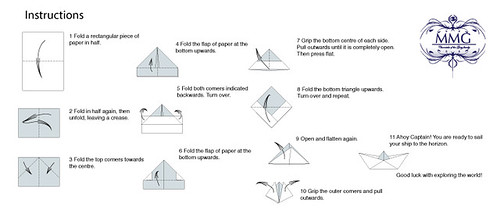 How to fold a paper boat a manual to create your own for How do you build a blog