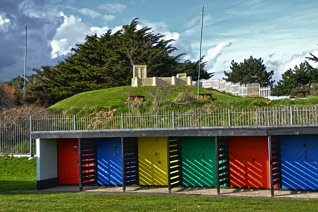 Southsea beach huts flickr photo sharing for Model beach huts