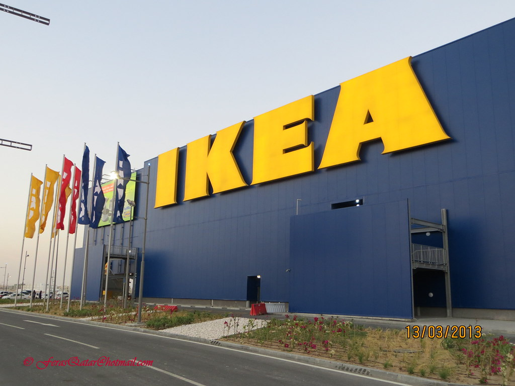 ikea store qatar location al shamal road between a flickr. Black Bedroom Furniture Sets. Home Design Ideas
