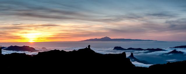 Nublo Teide Sunset