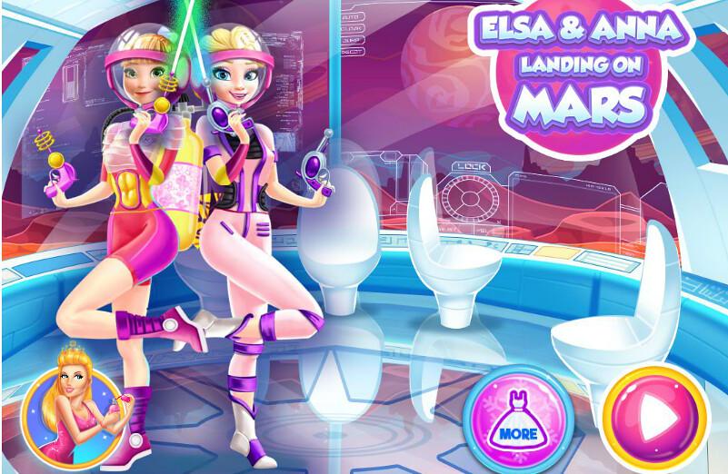 Игры Эльза и Анна Игры для детей