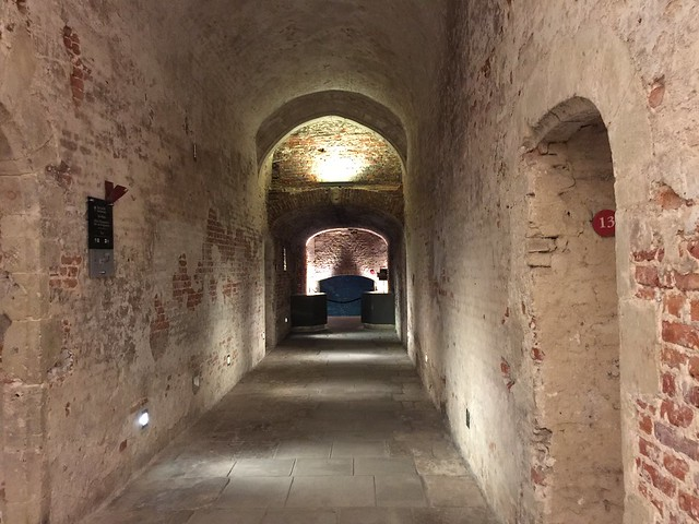 Galerías subterráneas del Palacio Coudenberg o de Carlos V (Bruselas)