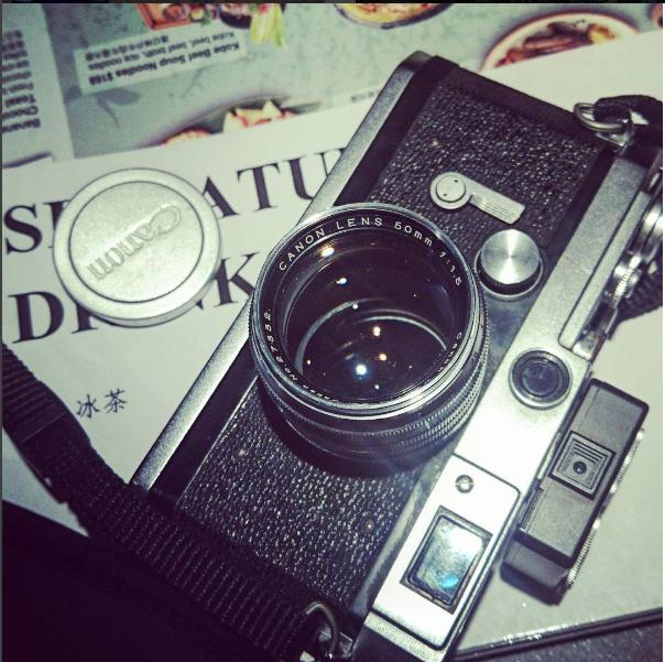 Canon 50mm f1.5 LTM 1952年的日系SONNAR