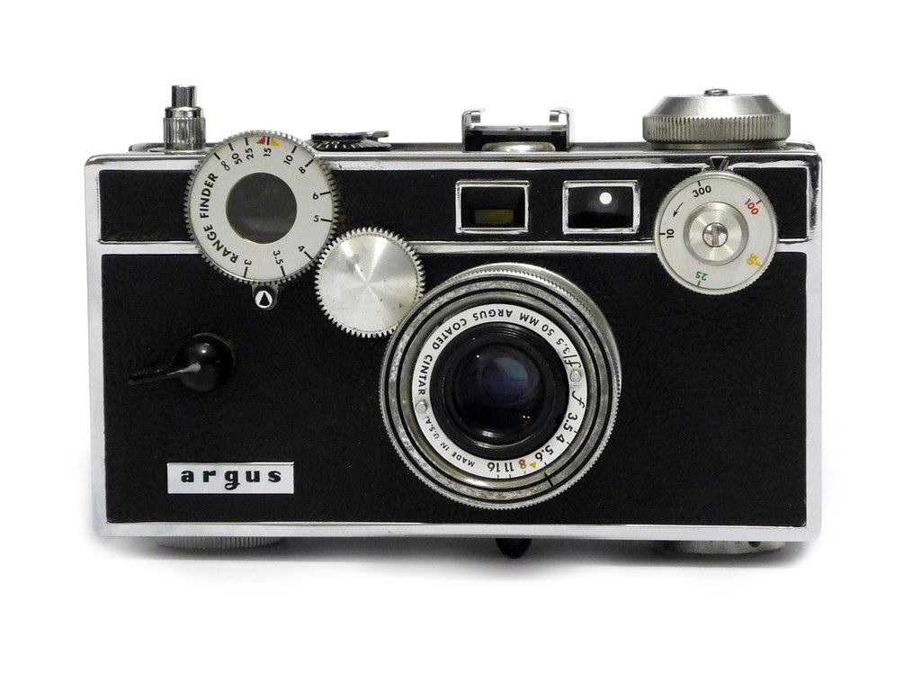 argus c3 7th version rangefinder camera made in ann arbo flickr. Black Bedroom Furniture Sets. Home Design Ideas