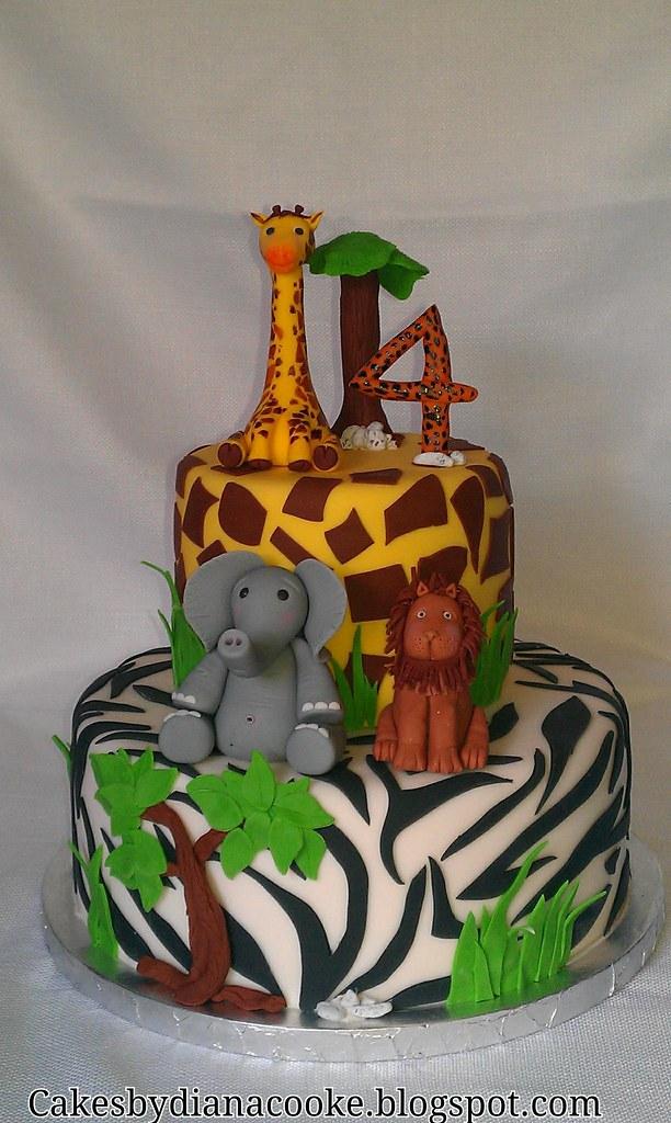 Jungle Cake Ideas