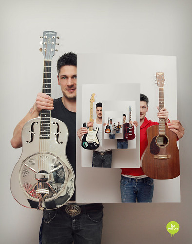 Creative Self-portrait #51 - A man can never have too many guitars | by Lex Wilson