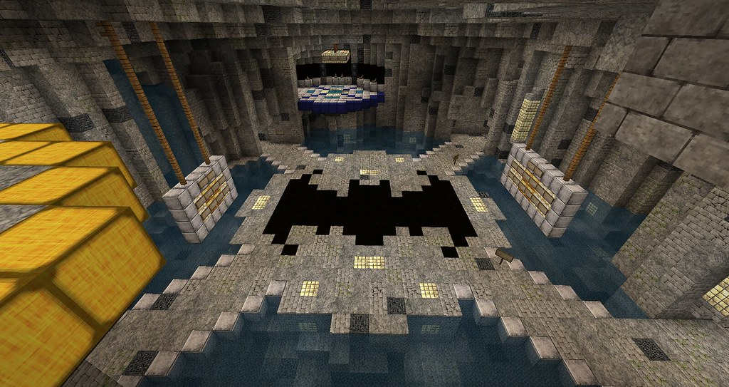 How To Build A Batcave In Minecraft