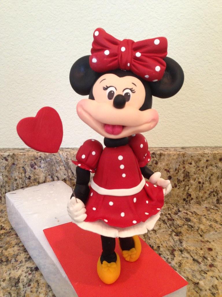 Minnie Mouse Cake Topper Minnie Mouse Cake Topper Flickr