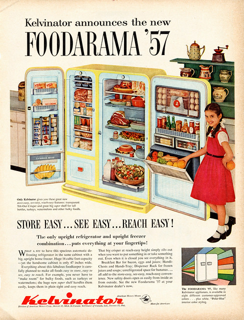 VINTAGE 1959 FOODARAMA  PARTY BOOK HARDCOVER