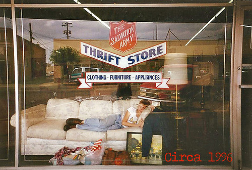 old school high school thrifting thrift store salvation army 8253177256_3051fde0bd_c | by ex.libris