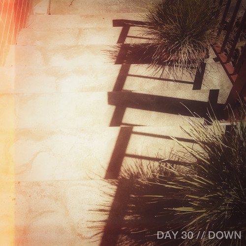 Day 30 // Down | by 74 Lime Lane