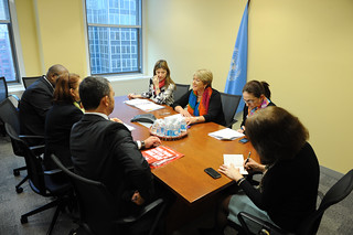 UN Women Executive Director Michelle Bachelet meets with Minister of Brazil | by UN Women Gallery