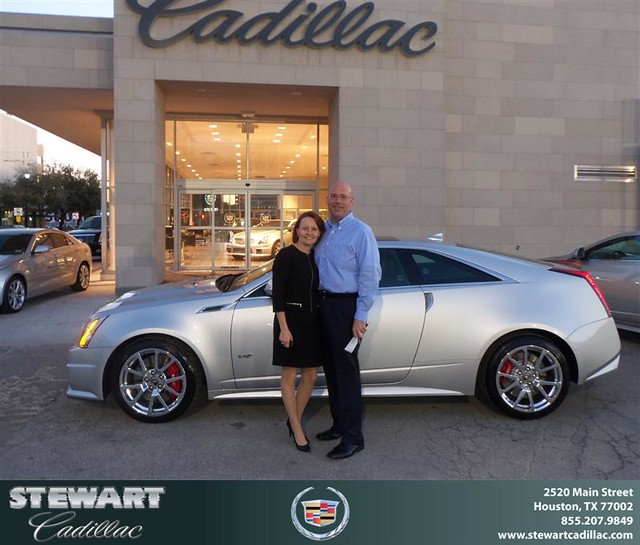 Congratulations To Michael Branch On The 2013 Cadillac CTS