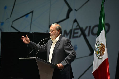 Mr Carlos Slim Helu, Founder and President, Carlos Slim Foundation, speaking at Aldea Digital, Mexico City, Mexico | by ITU Pictures