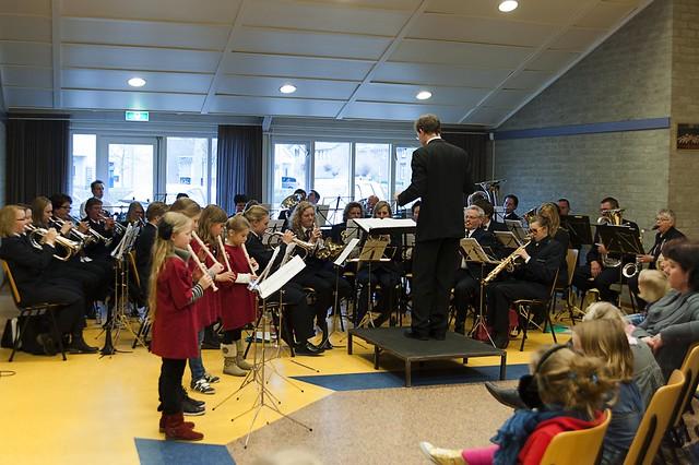 Samenspeeldag fanfare Helpt Elkander