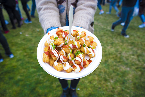 Japanese Pantry Spice Tater TotsFK Frozen Custard Smores Bar with Coffee Custard_Outside Lands Food_Aug 2016_Annie Lesser | by (...please, call me annie)