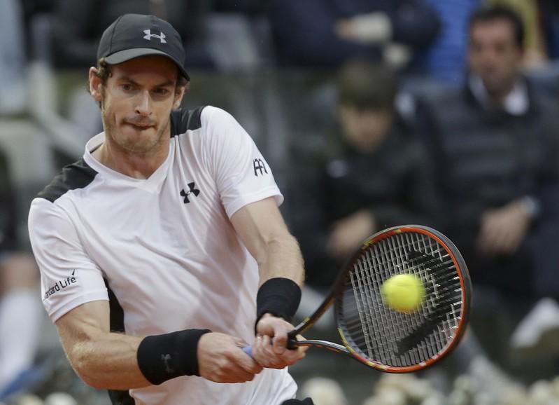 Andy Murray復出首戰輸球但自認狀態還OK。(達志影像資料照)