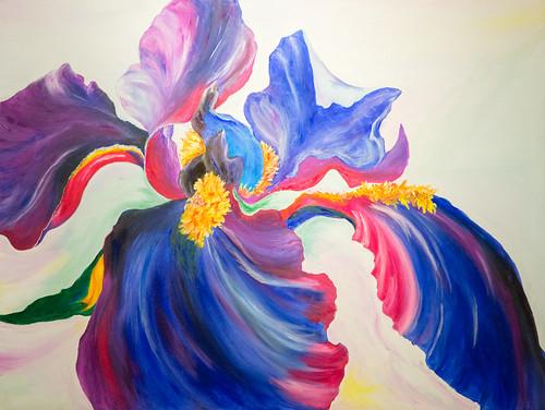 Michael Jilg artwork entitled Joyce's Best for the Eufloria Exhibit