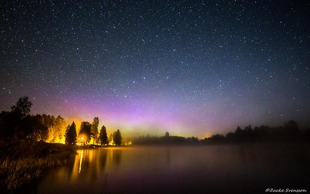 Aurora Borealis in Dala-Floda
