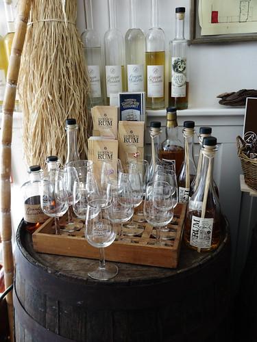 Rum Verkostung im Rumladen von Braasch (in der Großen Straße in Flensburg)