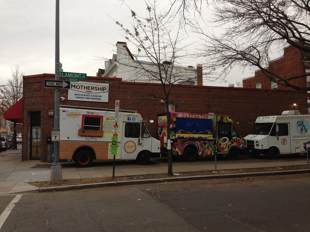 Food Truck Parking Storarge Overnight At Los Angele