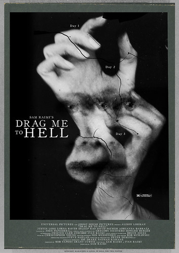 drag me to hell film poster drag me to hell film poster
