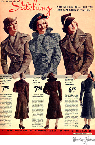 National Bellas Hess- Fall and Winter 1937-1938 | by WearingHistory